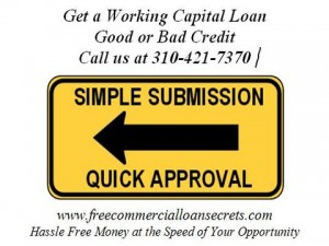 working capital loan good or bad credit los angeles
